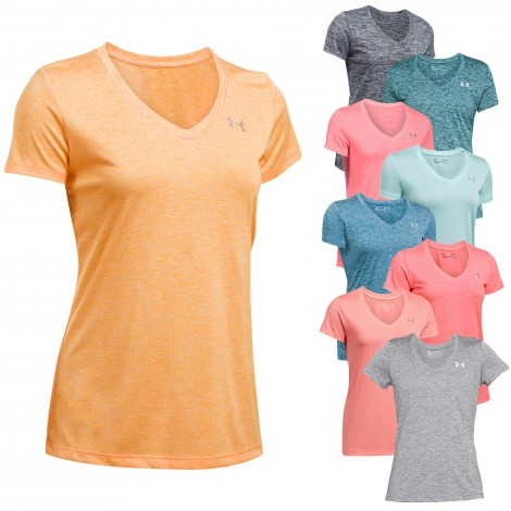 Tee-shirt Tech Twist MC Femme Under Armour