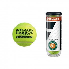 Tube 3 Balles French Open All Court