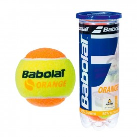 Tube 3 Balles Orange - Babolat 501035-113