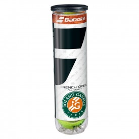 Tube 4 Balles French Open All Court